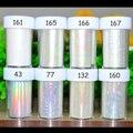 1 pc Prego Foils Starry Sky Glitter Holográfico Foils Nail Art Transferência Foil Sticker Wraps Unhas DIY Prego Folha De Papel acessórios