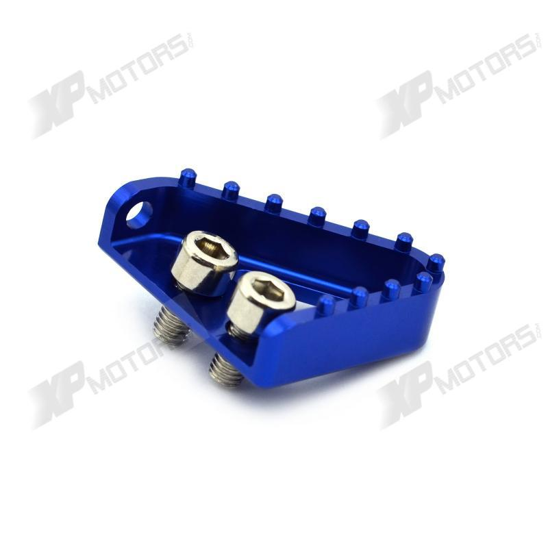eb38dfc91 Alta calidad azul CNC paso Plate para la palanca de freno para HUSABERG  Fe/fs/FX 250/350/ 390/450/501/570 2009 2010 2011 2012 2013 2014