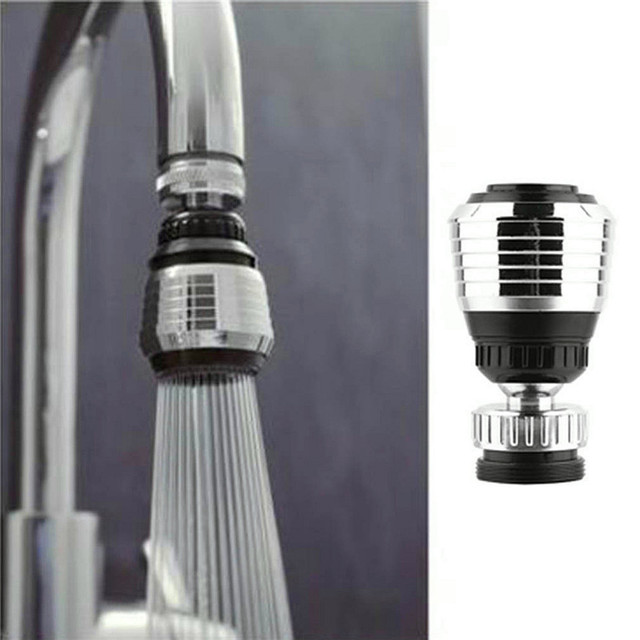 1Pc Kitchen 360Rotate Swivel Faucet Nozzle Faucet Water Filter Adapter Water Purifier Saving Tap Aerator Diffuser 0124#30