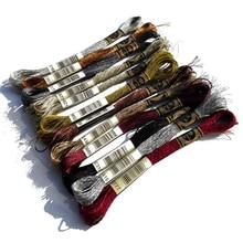 Oneroom 1 шт. драгоценные Металлические Эффекты металлическая нить для вышивки крестом того же цвета, что DMC нить E168 Серебряная вышивка DIY