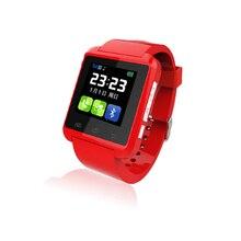 Neue Smart Uhr U8 Smartwatch U80 Unterstützung Sim-karte Bluetooth Alarm Time Clock Android IOS Telefon Tragbare Geräte Besser DZ09 U8