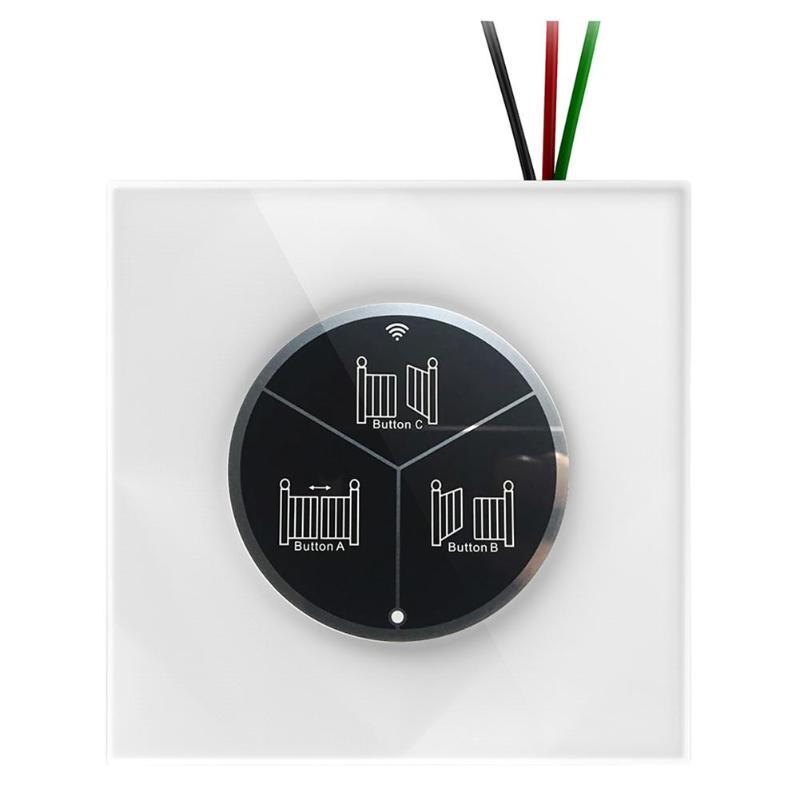 EKER 86 Series Smart Wireless WiFi Sliding Door Remote Control Automatic Door Key Switch Panel for Smart Home