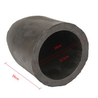 12 5 X 16cm 5kg Casting Clay Graphite Crucibles Refining Melting Copper Aluminium Brass Bulk Density