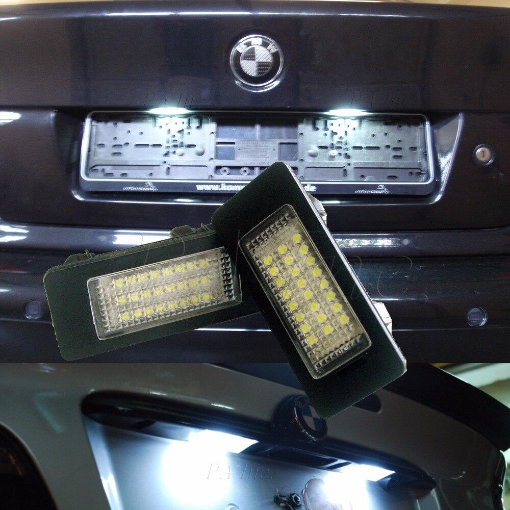 PA LED 1SET x CE RoHS For BMW E39 E90 E60 E61 5-SERIES M5 LED Courtesy light Door light Plate Lamp No Error led