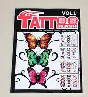 Популярные и профессиональные татуировки A4 40 страниц книги на yuelong Горячие тату журнал книги для татуировки поставить Бесплатная доставка