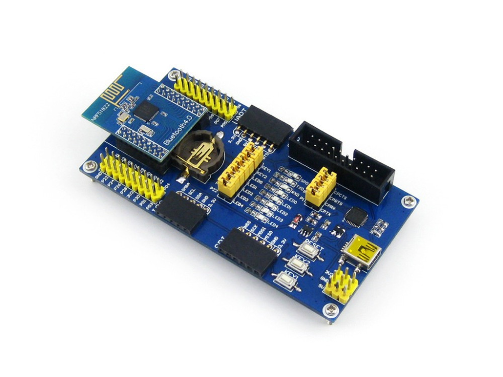 Parts BLE4.0 Bluetooth NRF51822 Module 2.4G Wireless Communication Module Transmitter Re ...
