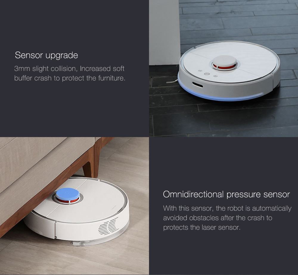 INTERNATIONAL VERSION XIAOMI MIJIA ROBOROCK VACUUM CLEANER 2 AUTOMATIC AREA CLEANING 2000PA SUCTION 2 IN 1 SWEEPING MOPPING FUNCTION 256393 19