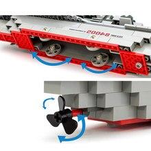 Kazi Field Army Military Kamikaze Frigate Ship Scale Model Building Blocks Self-Locking Bricks Learning Education Toys