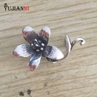 925 Sterling Silver NEW Troll Anemone Pendant Charms NOT Original Fit European Troll Bracelet Necklace Jewelry