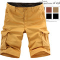 Hot selling new 2016 summer casual cotton boxer shorts leisure knee length plus fertilizer to increase youth fashion