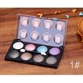 8 Colores de Tierra de Diamante Brillo de Pigmento Mineral Sombra de Ojos Paleta Cosmética Set de Maquillaje Nude Paleta de Sombra de Ojos Para Las Mujeres Belleza