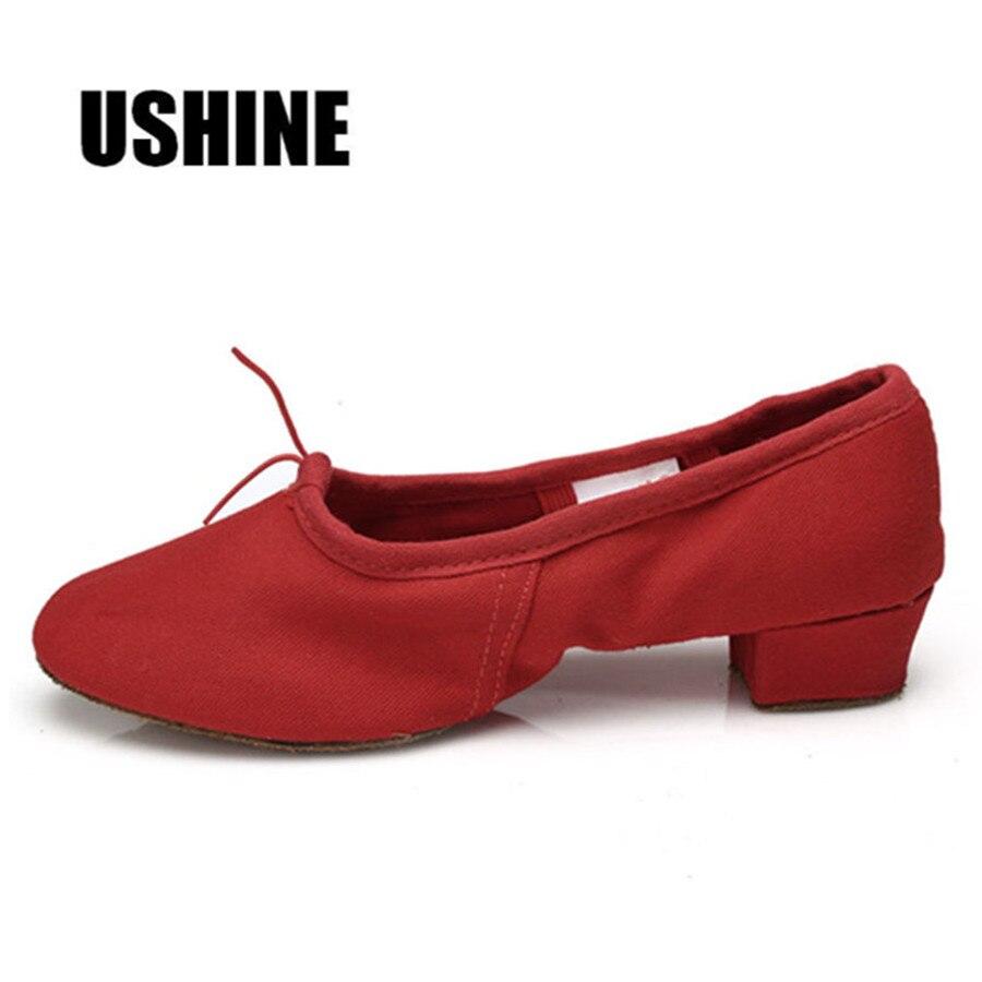 Crna Crvena Pink Balet Dance Cipele za žene Joga cipele Pratice Cipele Zapatos De Baile Latino Mujer Besplatna dostava