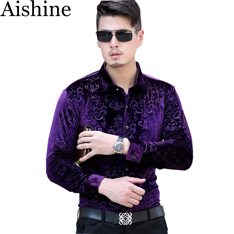 Yxs 5cs02 the new high end men 39 s fashion brand autumn gold for High end men s shirts