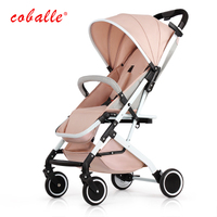 Coballe Stroller Lightweight Folding Can Sit Reclining Portable Mini Shock Absorbers Can Be On The Plane Baby Stroller