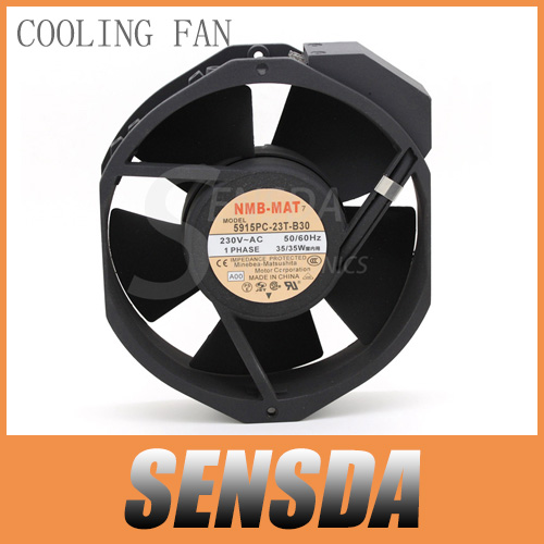 Free Shipping new Original NMB-MAT Blowers 5915PC-23T-B30 1738 230V 170mm industrial blower server cooling fans ciss suit for epson stylus photo r1900 suit for t0870 t0871 t0879 series fulll dye ink ciss with arc chips