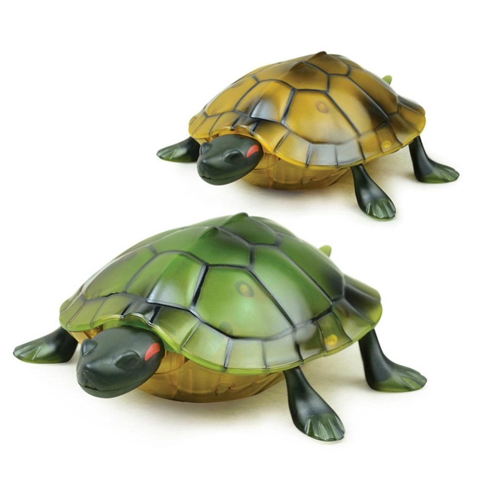 DA XIN Electric RC Remote Control Turtle Robot Infrared Simulation Green Sea Turtle Lifelike Crawl Funny Tricky Toys For Boys