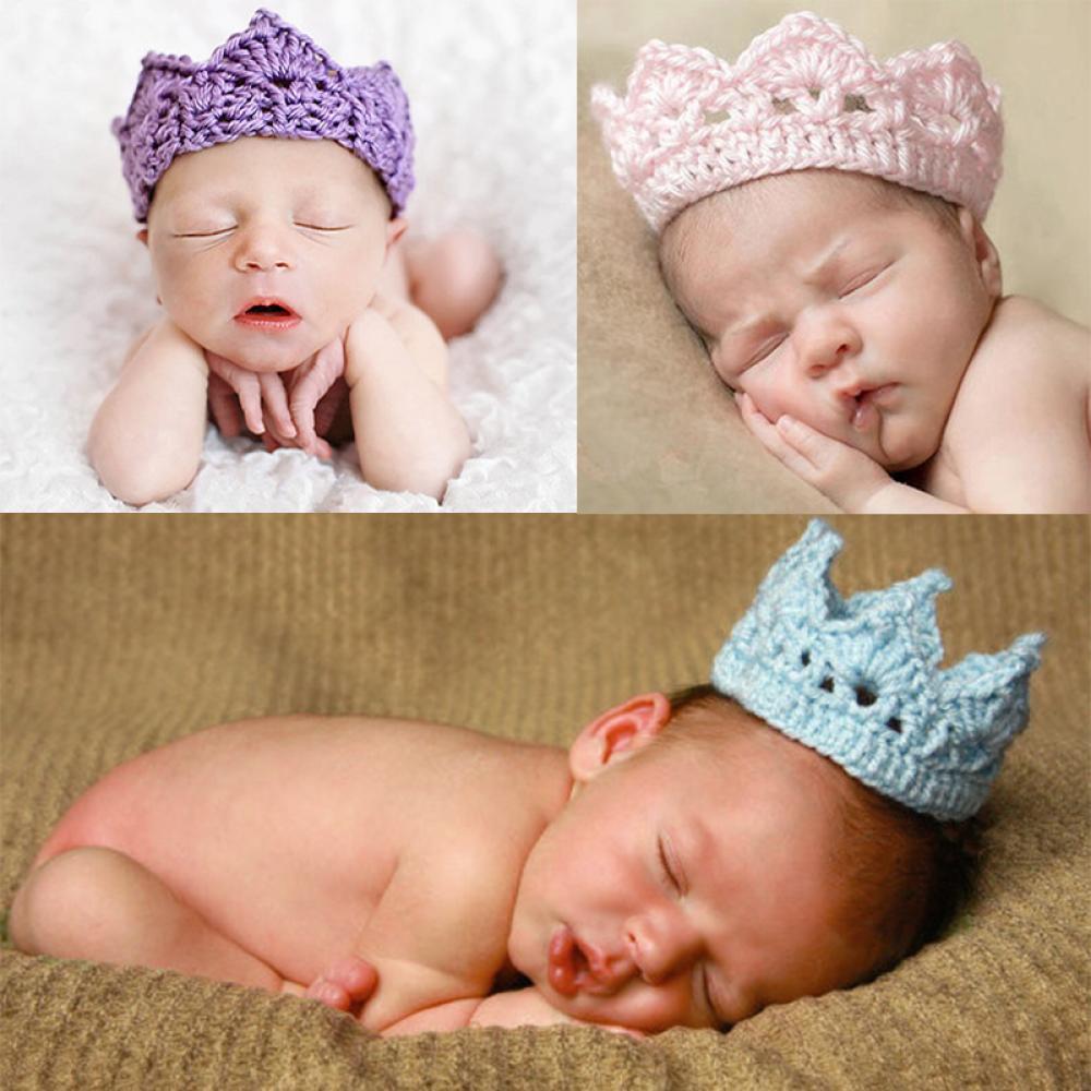 Multicolor Baby Crown  Boys Girls Crochet Crown Hat Hair Accessories Children Crochet Hat Headwear Photo Props 1pc книги издательство аст метро 2033 дикий мир комплект из 3 книг