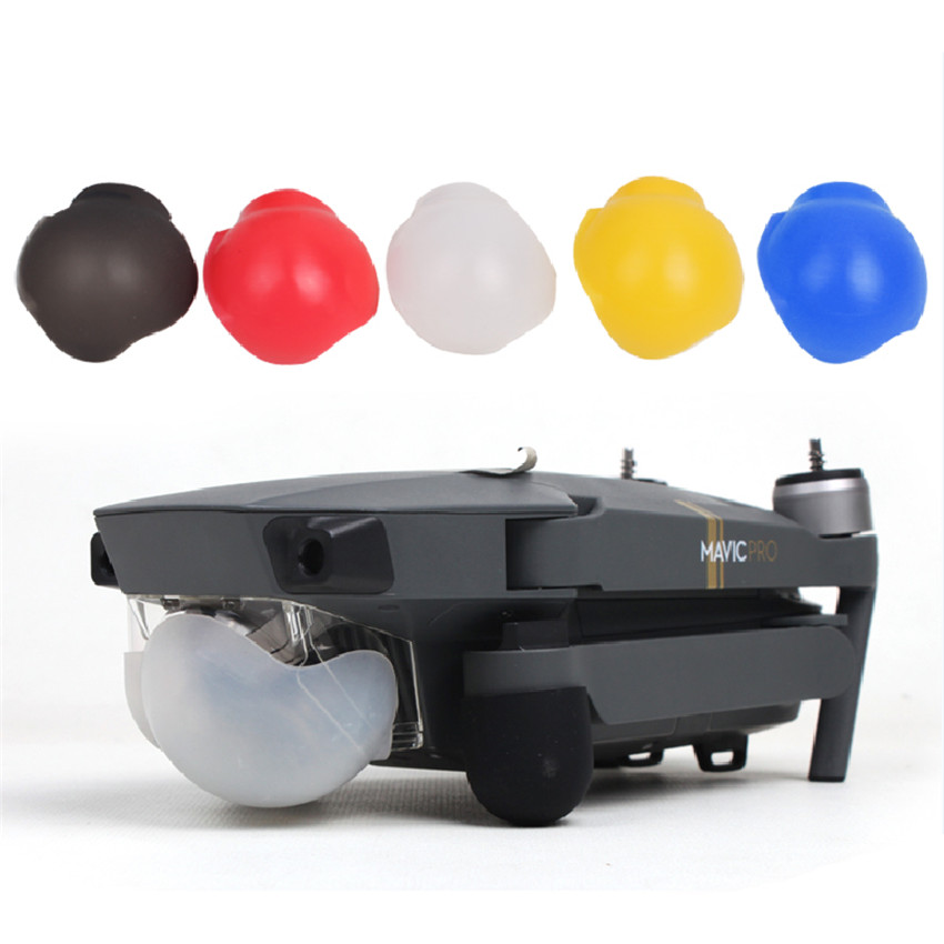 c002f419fd6f Новый DJI Mavic Pro PTZ крышка Защитная крышка объектива Кепки Силиконовые  Защита кожух царапинам Интимные аксессуары
