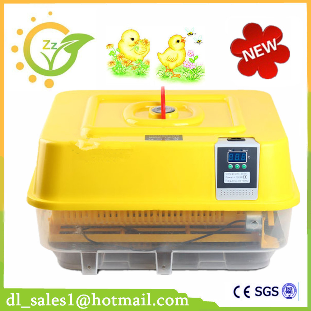 New Full Automatic Incubator Small Low Price Chicken Duck Bird Universal 42 Egg Incubation Machine For Sale