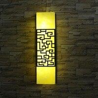 Традиционный китайский стиль, открытый настенный светильник скотоводство светодиодный бра двор коридор путь art лампа светодиодный наружно