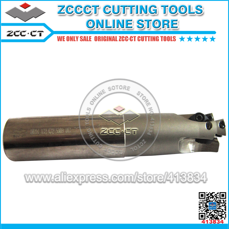 1 pc XMR01-032-G32-SD09-03 ZCCCT cutting tool cnc milling cutter 32mm diameter 3 teeth applicable insert SDMT09T312-DM best price mgehr1212 2 slot cutter external grooving tool holder turning tool no insert hot sale brand new