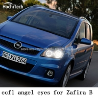 HochiTech Excellent CCFL Angel Eyes Kit Ultra Bright Headlight Illumination For Opel Zafira B 2005 To