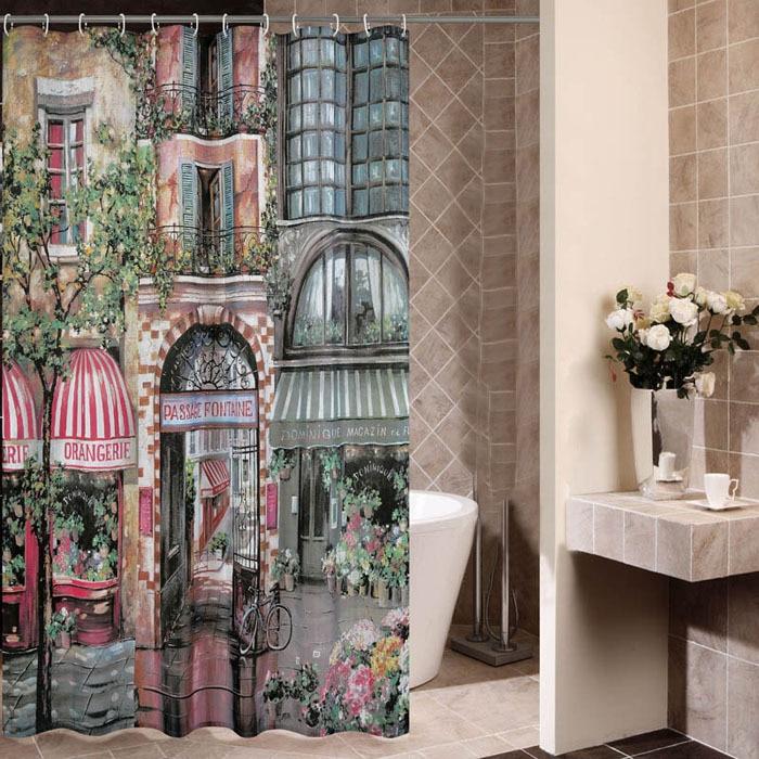 180 cm 180 cm de haute qualit rideau de douche rtro caf maison rideaux de douche paississent mouldproof impermable salle - Maison Colore Rideaux
