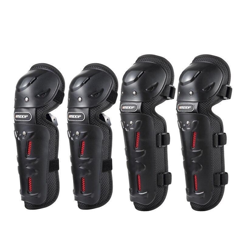 4 stücke/1 lot Motocross Knie Brace Schutz Schutz Ellenbogen Pad Kneepad Motorrad Sport Radfahren Schutz Protector Getriebe Ausrüstung