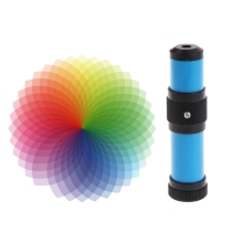 Ручной спектроскоп светильник-эмиссионной спектроскопии спектра физики науки хобби