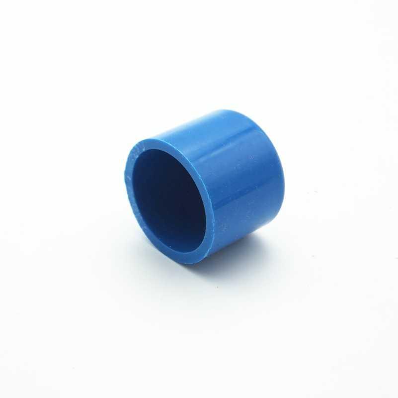 32mm id 엔드 캡 플러그 pvc 튜브 공동 파이프 피팅 커플러 정원 관개 시스템에 대 한 물 커넥터 diy