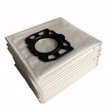 Cleanfairy 10pcs 필터 가방 Karcher MV4 MV5 MV6 WD4 WD5 WD6 WD4000 WD5999 부품 번호 2.863 006.0 교체