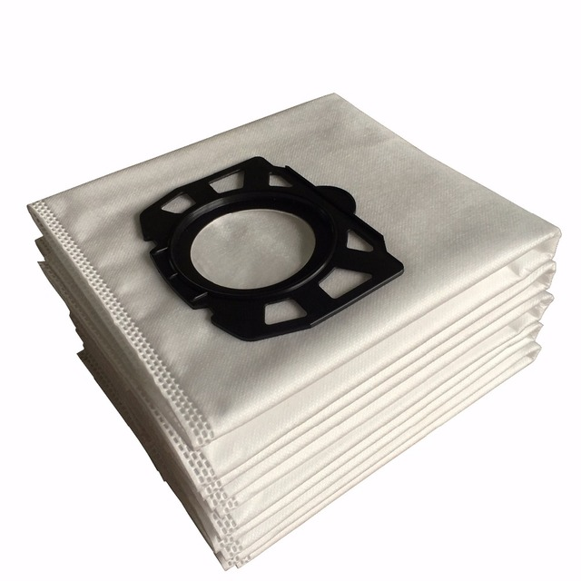 Free shipping 10PCS of filter bags for Karcher MV4 MV5 MV6 WD4 WD5 WD6 Karcher WD4000 to WD5999 replacement for part#2.863-006.0