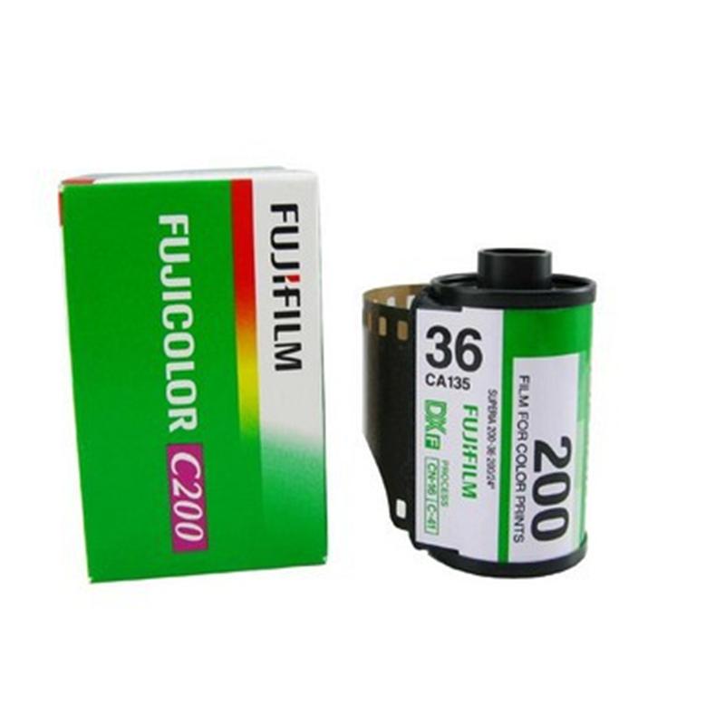 Prix pour 10 Roll/lot Fujifilm C200 Couleur 35mm Film 36 L'exposition pour 135 Format Caméra Lomo Holga 135 BC Lomo Caméra Dédié