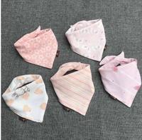 Baby Saliva Towel Baby Towel Cotton Double Snap Spring And Autumn Newborns Bib Pocket Children S
