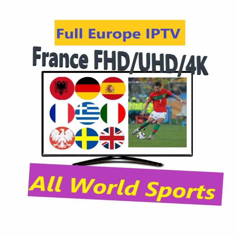 África ásia Europa 9000 + Live & VOD IPTV Malásia Índia Tailândia Vietnã Indonésia Turco Paquistão painel de revenda