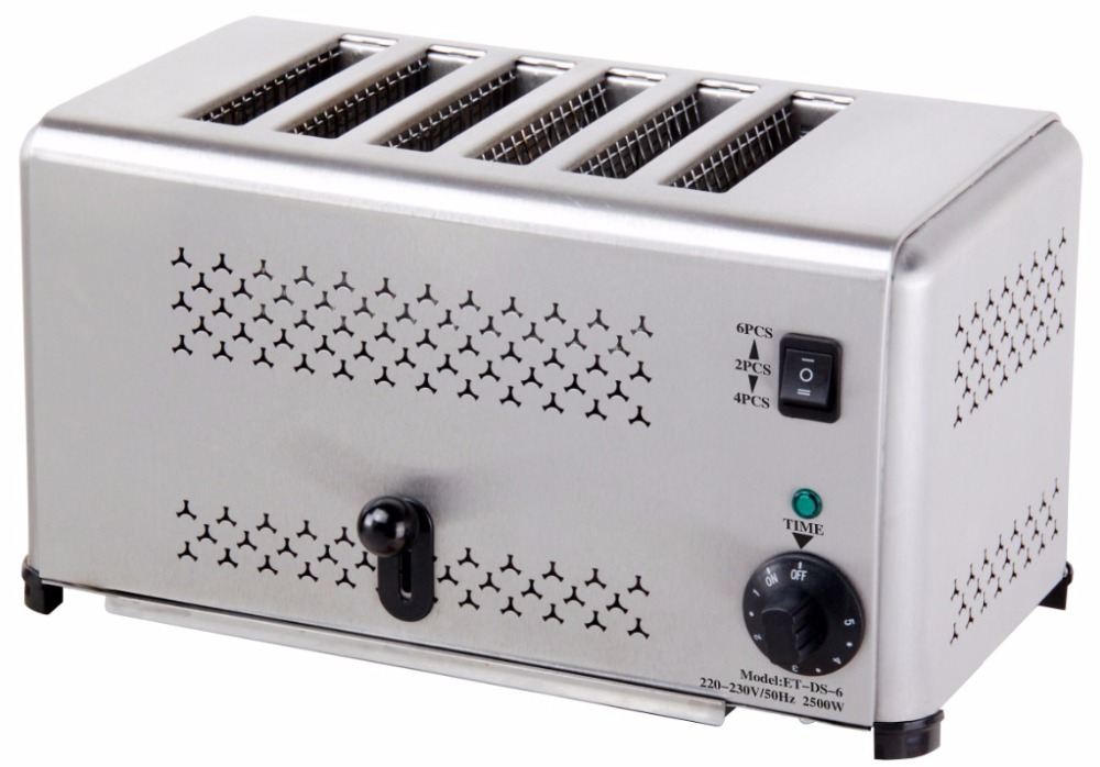 Ry Et Ds 6 6 Slice Commercial Bread Toaster In Toasters