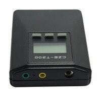 מכונה הוראת ריקוד כיכר סאונד למנוע להפריע תושב אלחוטי CZE-T200 התאמת תדר משדר FM