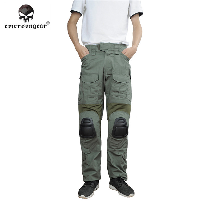 Emerson G4 Tactical Pants with Knee Pads Military Airsoft Hunting Combat Gear BDU Pants Men Outdoor Sports Trousers emersongear g3 combat pants with knee pads military bdu army airsoft emerson gear paintball hunting trousers em7046 mandrake