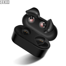 Wireless Earbuds Bluetooth Headphones 5.0 Mini In-Ear 3D Stereo True Wireless Earphone for Gaming with Portable charging Case недорого