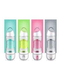 Multifunction Sports Bike Bicycle Water Bottle Water Cup Lighting Spray Outdoor Emergency Lights 400ml