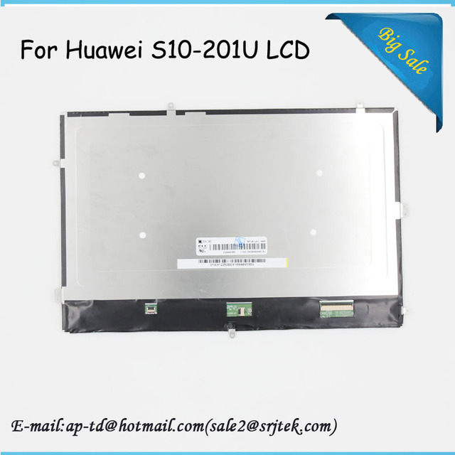 Wholesale 10.1inch For Huawei MediaPad 10 LINK S10-201U S10-201WA LCD Display Screen Replacement Parts Tablet Pc