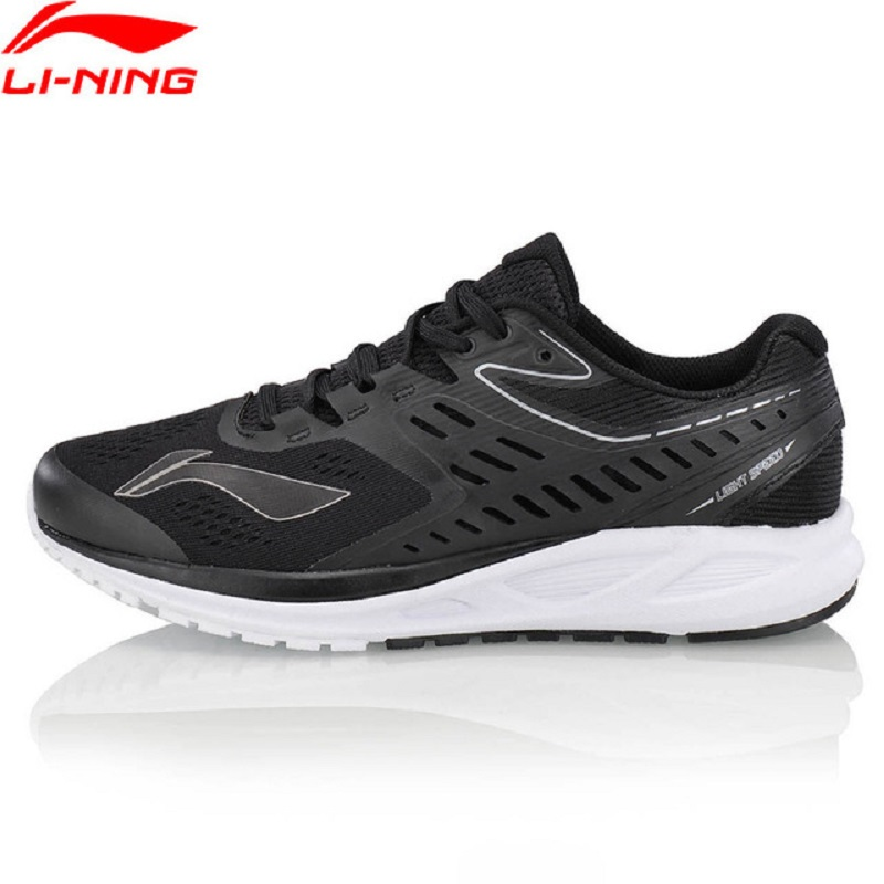 Li-Ning 2018 Women FLASH Running Shoes Anti-Slippery Breathable Sneakers Cushion Wearable Li Ning Comfort Sports Shoe ARHN022 li ning professional badminton shoe for women cushion breathable anti slippery lining shock absorption athletic sneakers ayal024