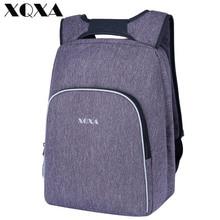 Xqxa бренд офисный работник Обувь для девочек Молодежная тенденция школьный Обувь для мальчиков студент сумка 15.6 дюймов ноутбук рюкзак или Обувь для девочек подходит заменить спереди