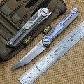 NOC deuty Тактика Складной нож KVT шариковый подшипник M390 лезвие титановая ручка походные охотничьи ножи для выживания на открытом воздухе EDC инс...
