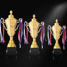 Best Sports Competition Trophy Customized Champions League Trophy Cup Commendation Trofeos Metal Cup Body Winner Trophy Souvenir high quality crown resin trophy champion trophy custom king glory trophy souvenir free shipping