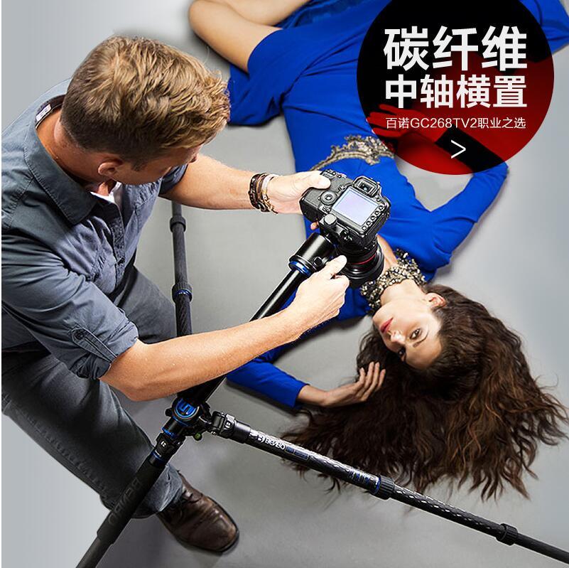Benro GC268TV2 Travel Angel II Tripod Carbon Fiber with Twist Lock Legs