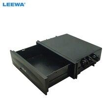 LEEWA 1DIN размеры стерео приборной панели установка монтажа и установка отделка фасции Spacer карман кассета ящик для хранения