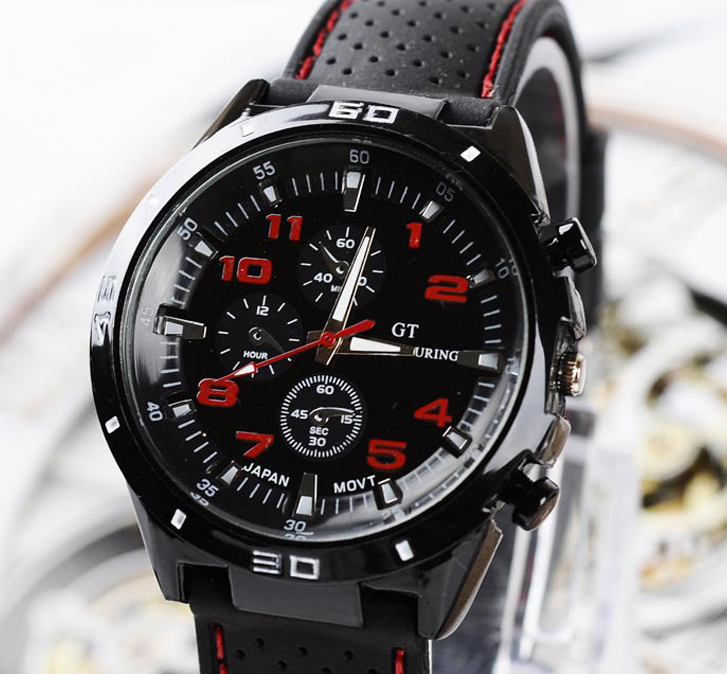 Top Luxury Brand Fashion Military Quartz Watch Men Sports Wrist Watches Clock Hour Male Relogio Masculino 8O75(China)