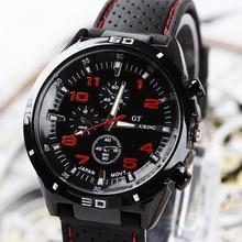 Топ люксовый бренд Модные военные кварцевые часы мужские спортивные наручные часы Мужские часы 8O75