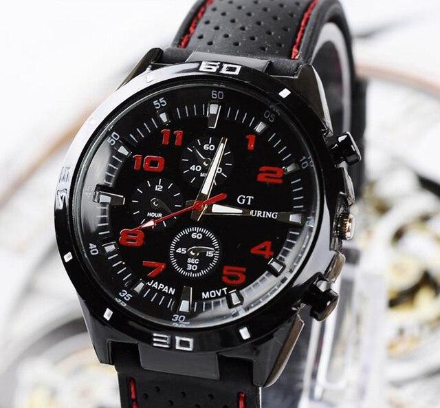 Top de Luxo Da Marca de Moda Militar Relógio De Quartzo Homens Esportes Relógios Relógio de Pulso Hour Masculino Relogio masculino 8O75